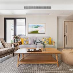 115㎡ 日式风格客厅设计