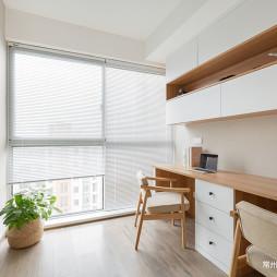 115㎡ 日式风格书房设计
