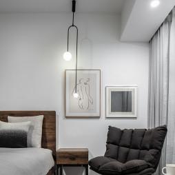 摩登工业风卧室设计