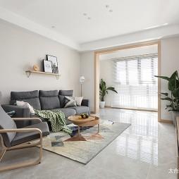简雅北欧三居客厅设计