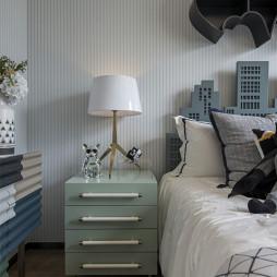 113㎡样板间床头灯设计