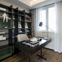 113㎡样板间书房设计