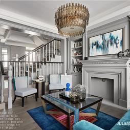 经典美式客厅吊灯设计