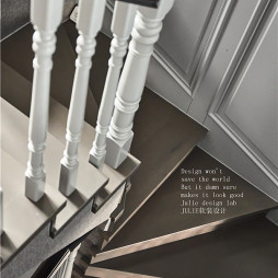 经典美式楼梯设计