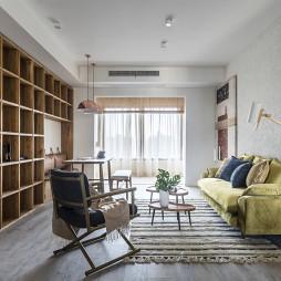 简洁混搭客厅设计图