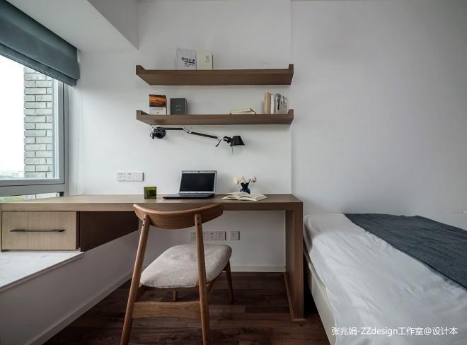 简约风三居书房隔板设计