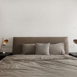 130m² 现代卧室设计图
