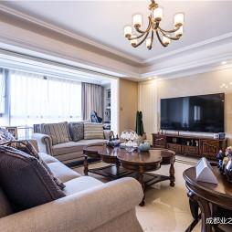 典型美式客厅设计