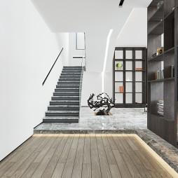 简约豪宅楼梯设计图