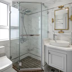 轻奢美式卫浴设计