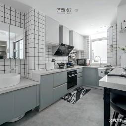 北欧小户型开放式厨房设计