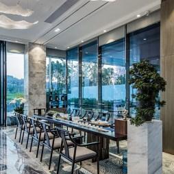 样板房展示空间餐厅设计