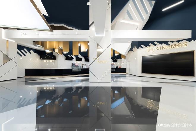 UA影院大堂设计图