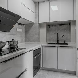 温暖现代厨房设计