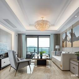 混搭风豪宅客厅设计