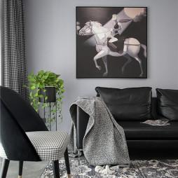 现代客厅装饰画图