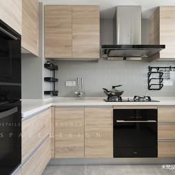 简约风四居厨房柜台设计