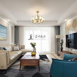 混搭四居客厅设计