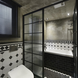 loft风格卫浴设计