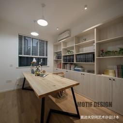 现代三居书房设计