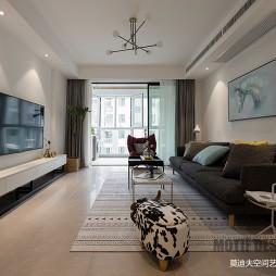 现代客厅设计实景