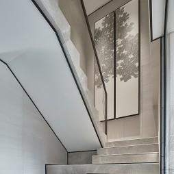 新中式素雅楼梯设计图