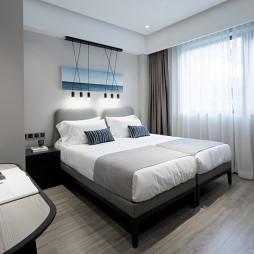 长租公寓双人房设计图片