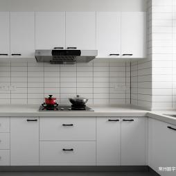 106㎡极简北欧厨房设计