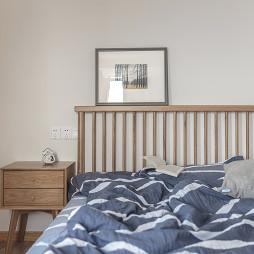 暖暖日式卧室装饰画图