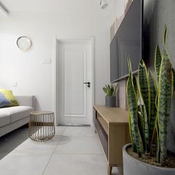 北欧卧室客厅实景设计