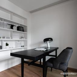 高级白现代书房设计