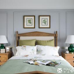 华丽美式卧室设计