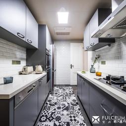 华丽美式厨房设计图