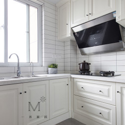 132m² 美式厨房设计图