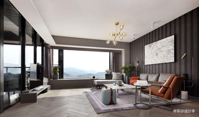 简约风豪宅客厅设计图片