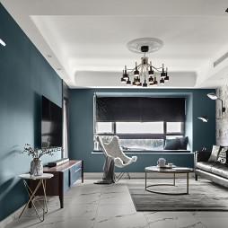 时髦现代客厅设计图