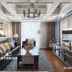 品质美式客厅设计图