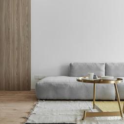 现代原木客厅设计图