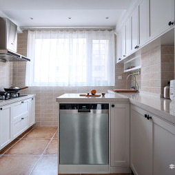 简单美式厨房设计