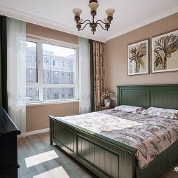 简单美式次卧室设计图