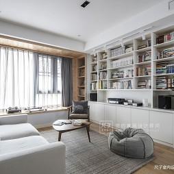 日式四居客厅设计图