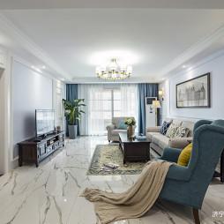 简美式客厅设计图