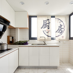 loft风小户型厨房设计实景图