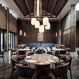 安吉悦榕庄度假酒店餐厅设计