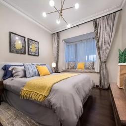 绿地株洲武广样板房卧室设计