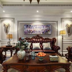 经典美式复式客厅设计