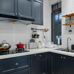 优雅法式厨房设计图