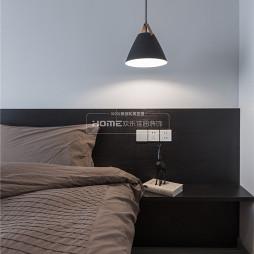 简洁简约卧室吊灯设计