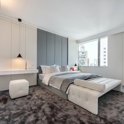 半山公寓卧室设计图
