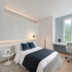 半山公寓卧室设计实景图
